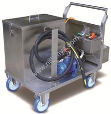 RWR-KST 80L Yağ - Pas - Kireç Temizleme Ekipmanı Makinası