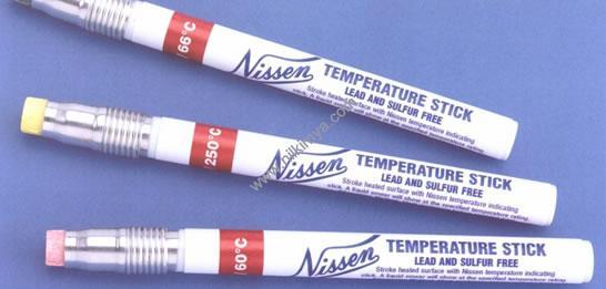 NISSEN Temperature Stick Sıcaklık Ölçüm Tebeşirleri